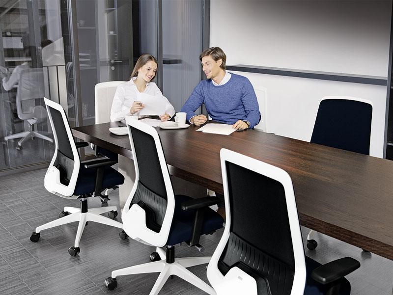 Bürostuhl Ludwigsburg Stuhlreihe 3