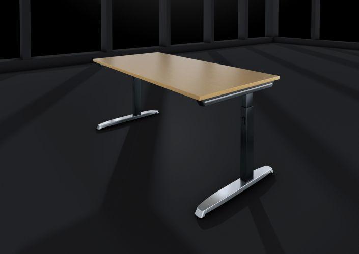 Hund-Schreibtisch-Thales_Vierkantfuß