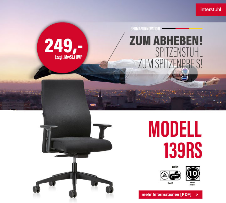 Bürostuhl Ludwigsburg + Aktionen